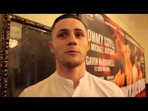 TOM KNIGHT TALKS FIGHT ON OCT 25 IN HULL, DAVID COLDWELL & SPARRING LIAM SMITH - INTERVIEW