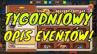 TYGODNIOWY OPIS EVENTÓW DESSERT COTTAGE I SHELTER MISSION  - IDLE HEROES PL