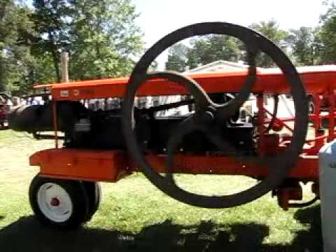2010 Portland, IN Show  -  A.C. THOMPSON Powered ALLIS-CHALMERS WC.MOV