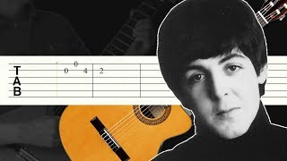 download musica And I Love Her The Beatles Guitarra Tutorial Tablatura