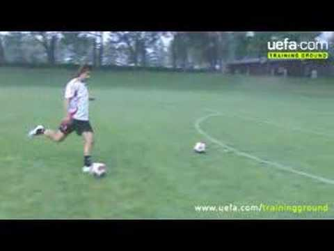 Andrea Pirlo Cross-Bar Challenge Video