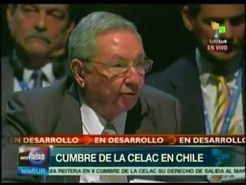 Intervención del Presidente cubano Raúl Castro en la II Cumbre de la CELAC
