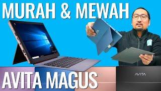 Review Avita Magus: Laptop/Tablet 2in1 Windows 10 yang Mewah dan Murah - Indonesia