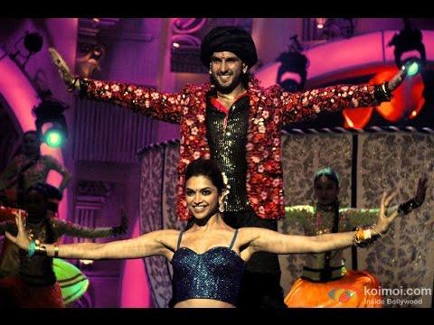 Deepika Padukone & Ranveer Singh performance in Zee Cine Awards