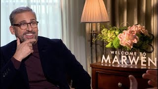 Steve Carell and Robert Zemeckis talk Welcome to Marwen, Back To The Future, The Office