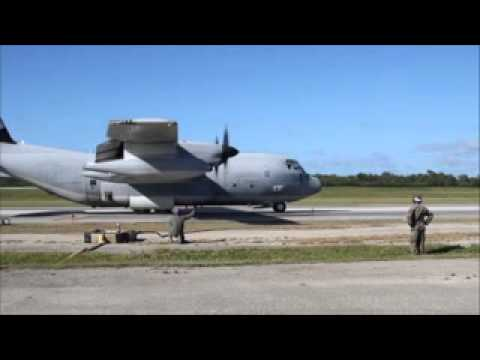 KC-130J fuels Marines during Forager Fury