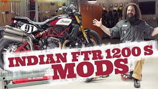 Indian FTR 1200 S Motorcycle Mods