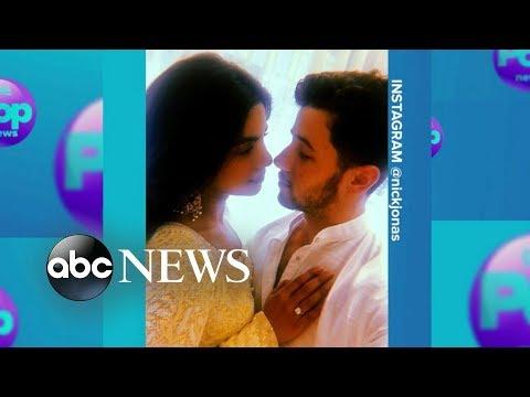 Nick Jonas and Priyanka Chopra's official engagement announcement thumbnail