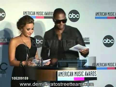 Demi Lovato and Taio Cruz Announce the 2010 AMA Nominees! (Also In Description Box)