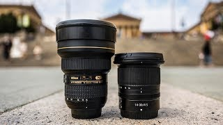 Nikon Z 14-30 f4 S vs Nikon 14-24 f2.8 | Is Cheaper Actually BETTER? (Lens Review)