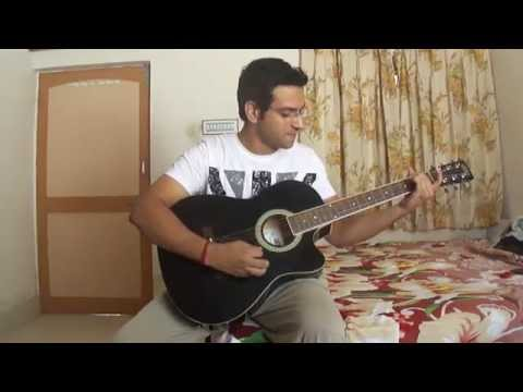 Inteha Ho Gayi Intezaar Ki-by Ankit Sharma(KBC) guitar cover...