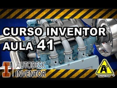 Aula 41 | Inventor 2013 | Comando Animação