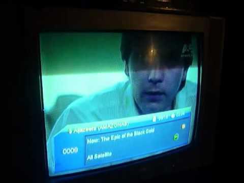 Az America s810b funcionando perfectamente en Chile - mas de 200 canales