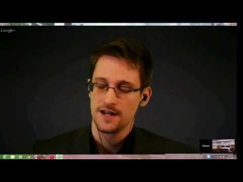 Edward Snowden at the Cato Surveillance Conference