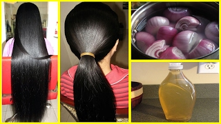 How To Grow Long and thicken Hair Naturally and Faster | Magical Hair Growth Treatment 100% Works