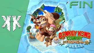 Let's Play - Donkey Kong Country : Tropical Freeze   Episode Final : Le fantoche fulminant ( NC )