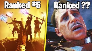 RANKING THE 5 WORST EASTER EGGS IN CALL OF DUTY ZOMBIES.