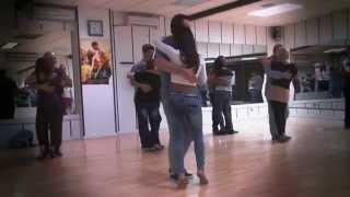 CLASE DE KIZOMBA BASI Y DEISY  www.bailesurmadrid.com