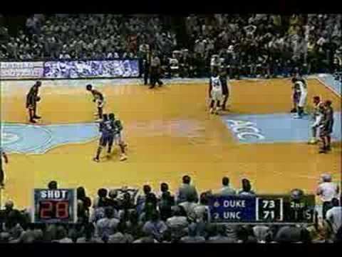 UNC comes back to win vs Duke...