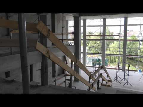 30.05.2011: Baustelle neue Stadthalle - Ein erster Blick ins Innere der  Reutlinger Stadthalle