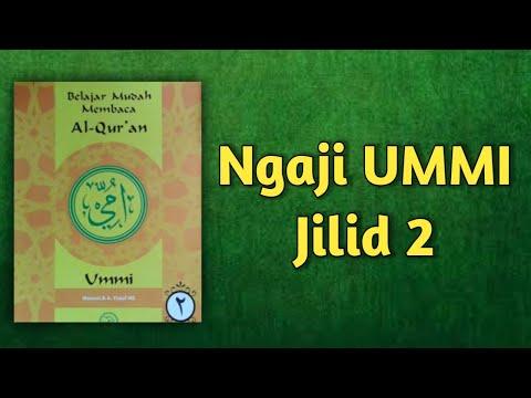 Ngaji Metode UMMI jilid 2 lengkap Doa pembuka dan  slide halaman