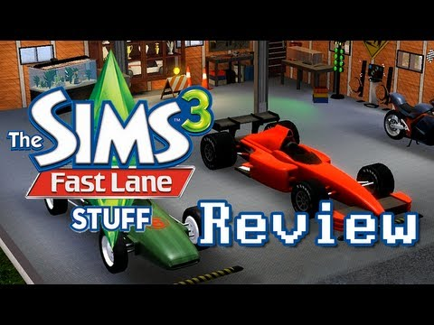 The Sims 3 Fast Lane Stuff Pack Review - LGR