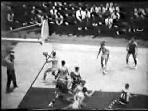 1966 GRAFTON (WI) VS. MADISON EAST STATE TOURNEY BASKETBALL