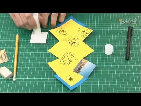Cómo hacer cartas creativas - YouTube
