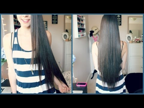 Hair Care Routine & Tips for Growing Hair Long!