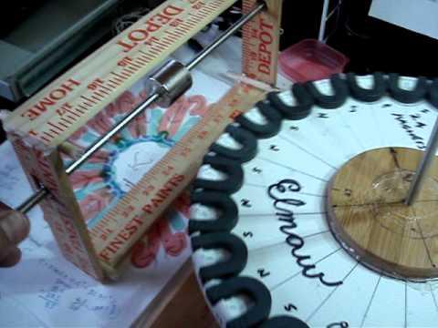 ELMAW   ( Ed Leedskalnin Magnetic Wheel )