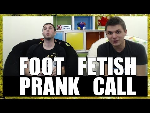 Foot Fetish Prank Call (w  Fridaynightcranks) video