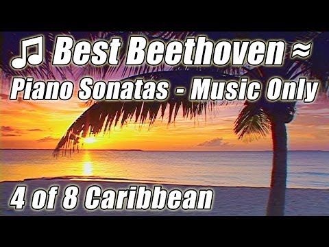 BEETHOVEN Moonlight Sonata, N9 Relaxing Instrumental Piano Classical Music for Studying Reading 4