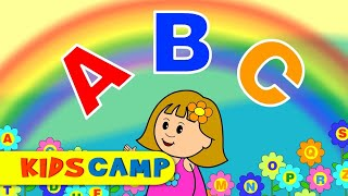 ABC Song | Nursery Rhymes | Popular Nursery Rhymes by KidsCamp
