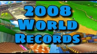 [MKW] 2008 WORLD RECORDS (Mushrooms Cup)