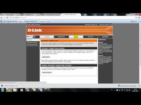 Configurando roteador D-link wbr 1310
