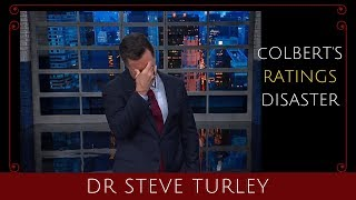 Ultra-Liberal STEPHEN COLBERT Sees His RATINGS TANK!!!