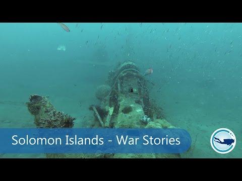 Wreck diving in the Solomon Islands