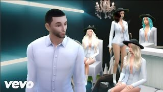 Parodia Maluma Cuatro Babys Official Video ft Noriel Bryant Myers Juhn CristianPvD Sims 4