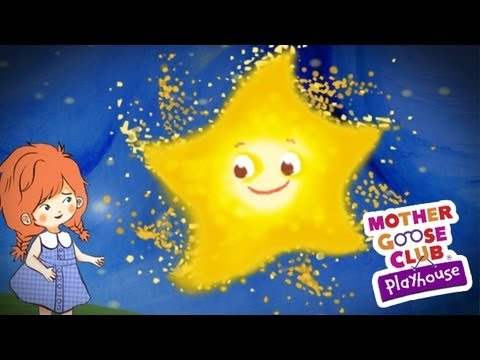Twinkle Twinkle Little Star Animated - Mother Goose Club Playhouse...