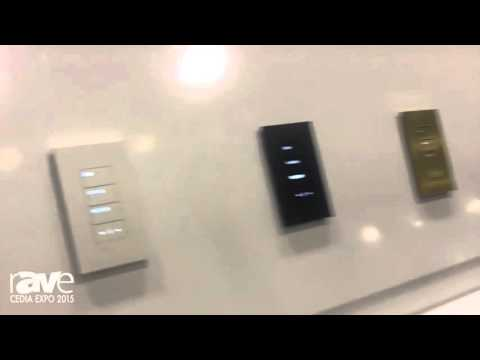 CEDIA 2015: Lutron Intros New Sleed Palladiom Keypads, Part of Its HomeWorksQS Lighting Control