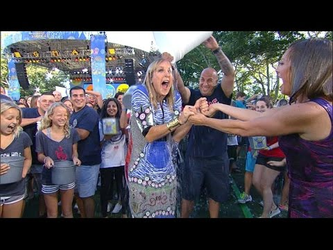 'GMA' Takes the Plunge in Ice Bucket Challenge for ALS