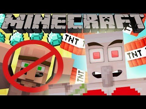 If Iron Golems were Evil - Minecraft