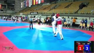 516-Issoufou, Abdoul (NIG) vs Solic, Ivan (CRO)  7-2