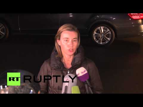 Switzerland: Mogherini confident of solution regarding Iran nuclear talks