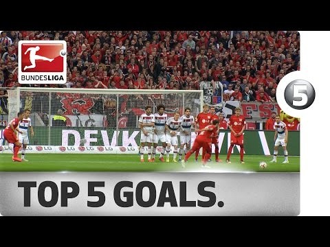 Top 5 Goals from Matchday 31 Vote for your Goal of the Week