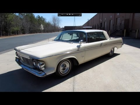 1963 Chrysler Imperial Crown 2-Door Hardtop Start Up. Exhaust. and In Depth Review