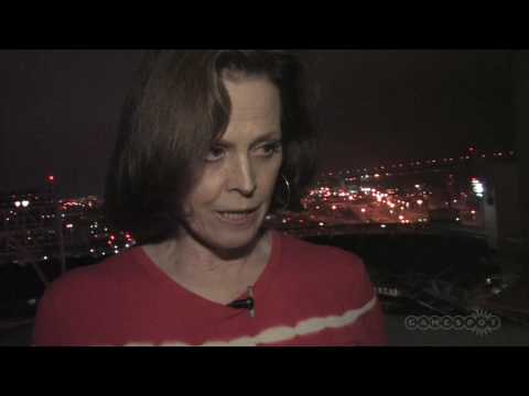 Comic-Con 09: Avatar Sigourney Weaver Interview