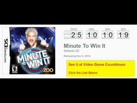Minute To Win It Ds Countdown video
