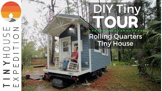 College Student's Impressive Tiny House Floods in Hurricane BUT Survives