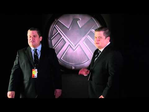 SDCC 2014: Agent Koenig greets Hall H for Marvel's Agents of S.H.I.E.L.D.